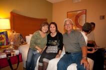Janice (Muramoto) Chin, Grace (Sonoda) Fujimoto, Greg Tsuda