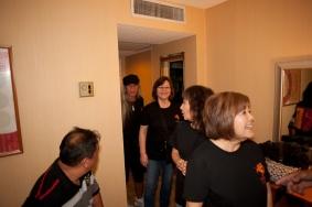Sarah Kihoi and Cynthia Kee arrives.