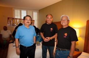 Ronald Toyofuku, Edwin Kimoto and Greg Tsuda