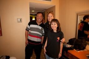 Clifford Fukuda, Ella and Grace.