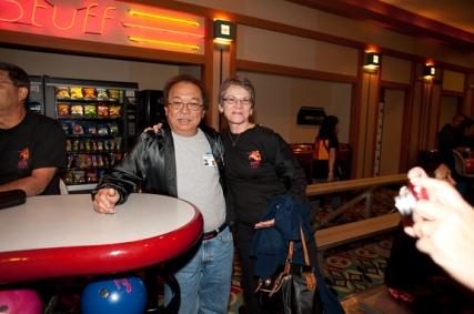Linda Miller Bruder and Hemingway Yamamoto
