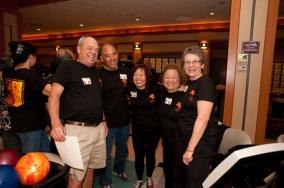 Wayne, Edwin, Carol Obrero (Rudy's wife), Linda and Linda.