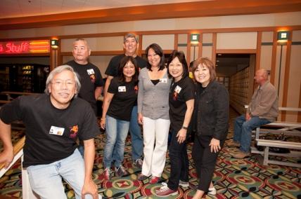Rudy Obrero, Gary Shinsato, Linda Higa Nyman, Jolynn Len (Michaels wife), Cynthia Sodetani Iwai, Janice Muramoto Chin.