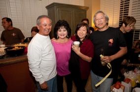 Henry and Joanne Fujimoto, Rudy and Carol Obrero