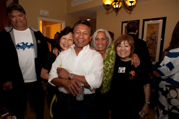 Phillip Pai, Cynthia Sodetani Iwai, Ronald Havallana, Sarah Kihoi, and Janice Muramoto Chin