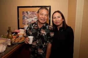 Dennis Kaneshiro and Edwina Lum Moscatelli