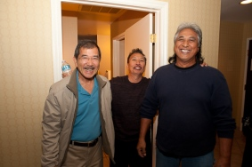 Gordon Fujimoto, Stanley Reyes and Elliot Del Cruz