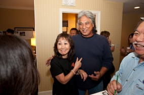 Grace Sonoda Fujimoto and Elliot Del Cruz