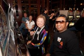 Linda Ishikawa Honda and Ron Havellana