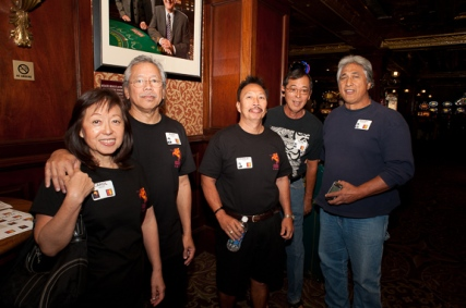 Carol and Rudy Obrero, Stanley Reyes, Alan Yamashiro and Elliot Dela Cruz