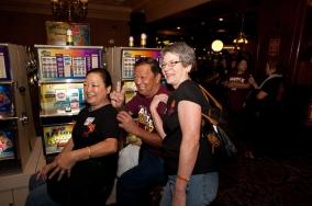 Stephanie Kong Kuramata, Clifford Fukuda, and Linda Miller Bruder