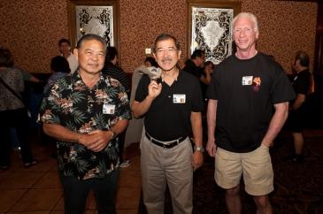 Dennis Kaneshiro, Gordon Fujimoto, and James Dickson