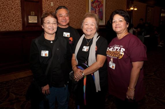 Irene Ige Kawado, Neil and Linda Honda, Stephanie Ishikawa Murakoshi
