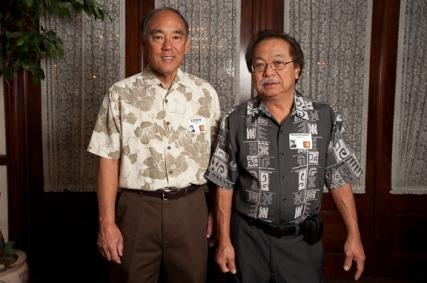 Edwin Kimoto and Hemingway Yamamoto