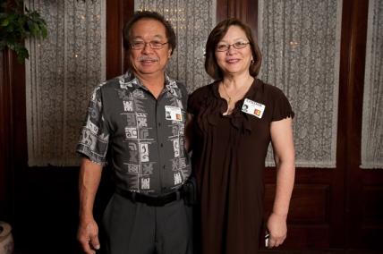 Hemingway Yamamoto and Cynthia Kee
