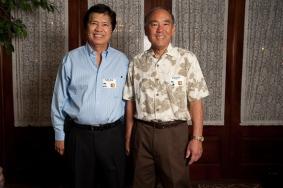 Nolan Higa and Edwin Kimoto