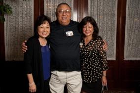 Bernie Imamura with Cynthia Sodetani Iwai and Linda Higa Nyman