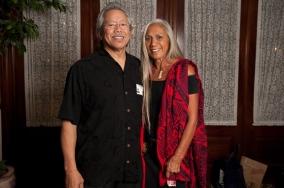 Rudy Obrero and Sarah Kihoi