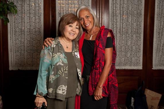 Janice Muramoto Chin and Sarah Kihoi
