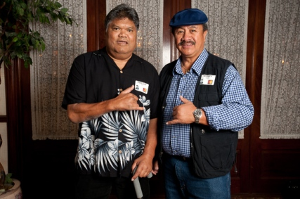 Phillip Pai and Henry Makua