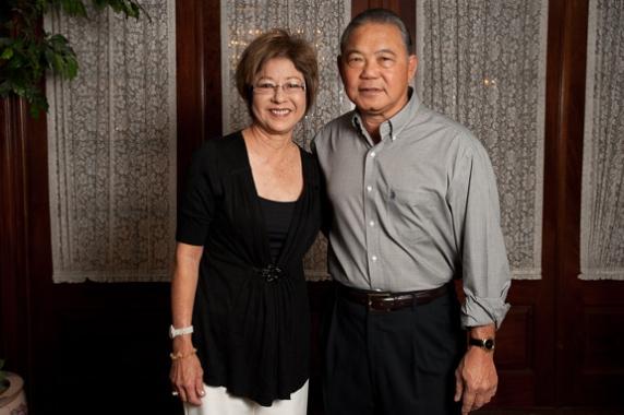 Dennis and Elsie Kaneshiro