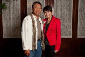 Ronald Havellana and Shella Montayre
