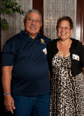 Joycelyn (Lau) and Tito Sene