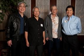 Richard Yamada, Rudy Obrero, Jon Haitsuka and Nolan Higa