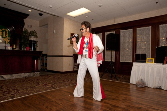 Frank Hirazumi, our own Elvis!