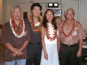 Rudy, Nolan, Edwina, and Greg