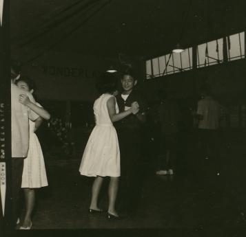 Marc Aoyama and Diane Teshima