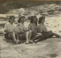 Sharlene Tomita, Joanne Koki, Sandra Yanagawa, Karen Ogoso