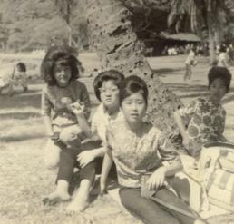 Linda Higa, Janice Muramoto, Linda Iijima, Sue Kujubu