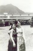 Stephanie Kong and Mayben Naumu