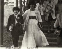 Janice Muramoto and Harvey Chin