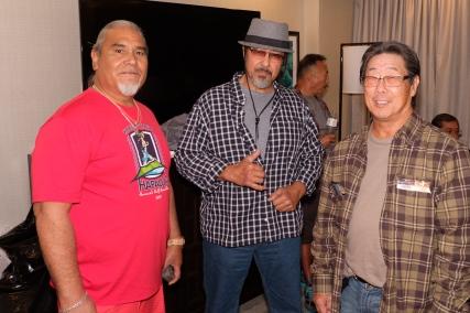 Chris Kaahanui, David Carbonnell, Steve Yamaguchi