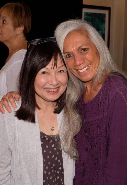 Cynthia Sodetani Iwai and Sarah Kihoi