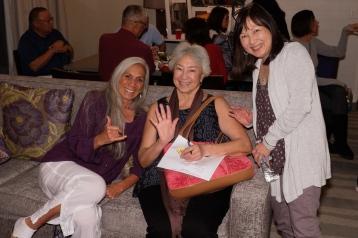 Sarah Kihoi, Lenore Boynton Sheldon, Cynthia Sodetani Iwai