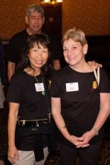 Mona Fujimoto (Gordon) and Kay Iwane (Glenn)
