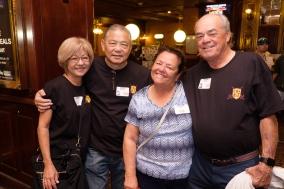 Elise & Dennis Kaneshiro, Paulette & Wayne Smith