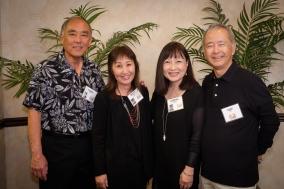 Edwin Kimoto, Grace (Sonoda) Fujimoto, Cynthia (Sodetani) Iwai & Kent Iwai
