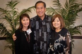Grace (Sonoda) Fujimoto, Harvey Chin & Janice (Muramoto) Chin