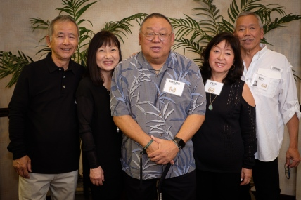 Kent & Cynthia Iwai, Bernie Imamura (Susan Aoki), Rudy & Carol O
