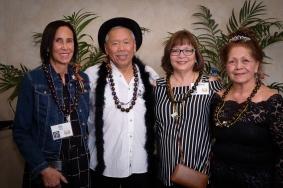 Jill (Faust) Miller, Rudy Obrero, Cynthia Kee, Mayben Namalu