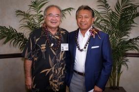 Clarence Toguchi & Ronald Havellana