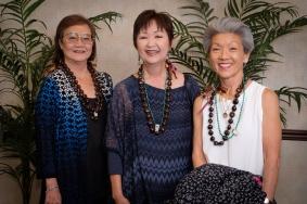 Donna (Yamane) Saito, Doreen (Kawamura) Noborikawa, Jane (Muraka