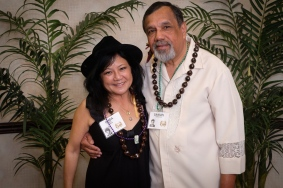 Linda Higa and Samuel Gonsalves