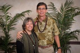 Eddie and Marlene Hopkins