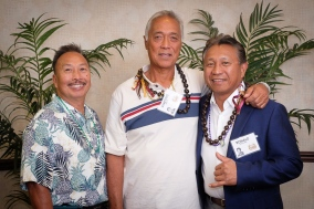 Santley Reyes, Vincente Gerona, & Ronald Havellana